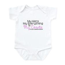 My Everything Coastie Sister Infant Bodysuit