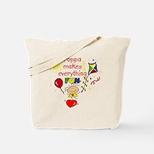 Poppa Fun Girl Tote Bag