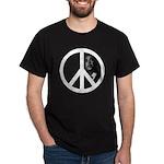 Obama - Peace Sign Dark T-Shirt