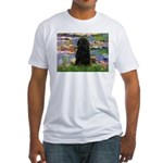 Water Lilies Fitted T-Shirt