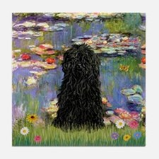 Water Lilies Tile Coaster