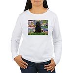 Water Lilies Women's Long Sleeve T-Shirt