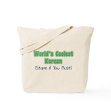 World's Coolest Korean Tote Bag