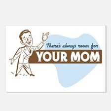 Room For Your Mom Postcards (Package of 8)