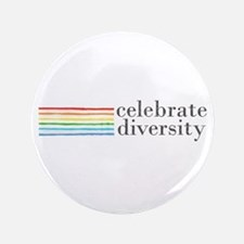 "celebrate diversity 3.5"" Button (100 pack)"