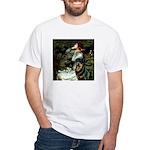 Ophelia/Rottweiler White T-Shirt