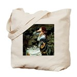Ophelia/Rottweiler Tote Bag