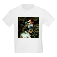 Ophelia/Rottweiler Kids Light T-Shirt