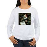 Ophelia/Rottweiler Women's Long Sleeve T-Shirt