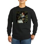 Ophelia/Rottweiler Long Sleeve Dark T-Shirt