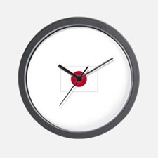 Japan Flag Wall Clock