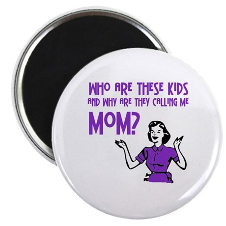 "Who Are These Kids 2.25"" Magnet (100 pack)"