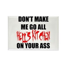 All Hell's Kitchen Rectangle Magnet
