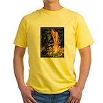 MidEve / Rottweiler Yellow T-Shirt