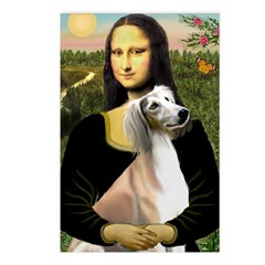 Mona Lisa (new) & Saluki Postcards (Package of 8)