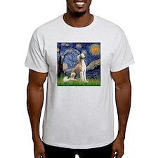 Starry Night / Saluki T-Shirt