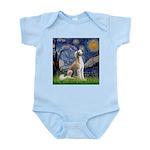Starry Night / Saluki Infant Bodysuit