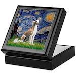 Starry Night / Saluki Keepsake Box