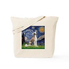 Starry Night / Saluki Tote Bag
