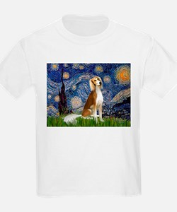 Starry Night / Saluki T-Shirt