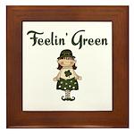 Feeling Green Framed Tile