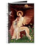 Seated Angel / Saluki Journal