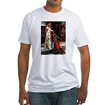 Accolade / Saluki Fitted T-Shirt