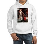 Accolade / Saluki Hooded Sweatshirt