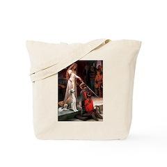 Accolade / Saluki Tote Bag