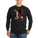 Accolade / Saluki Long Sleeve Dark T-Shirt