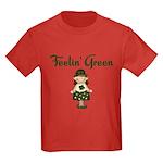 Feeling Green Kids Dark T-Shirt