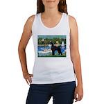 SCHNAUZER & SAILBOATS Women's Tank Top