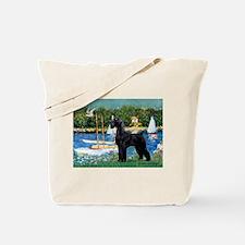 SCHNAUZER & SAILBOATS Tote Bag