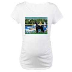 SCHNAUZER & SAILBOATS Shirt