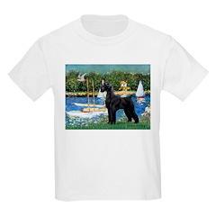 SCHNAUZER & SAILBOATS T-Shirt