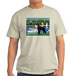 SCHNAUZER & SAILBOATS Light T-Shirt