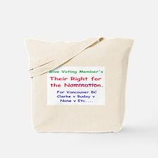 Vancouver Center LPoC Nominat Tote Bag
