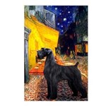 Cafe & Giant Schnauzer Postcards (Package of 8)
