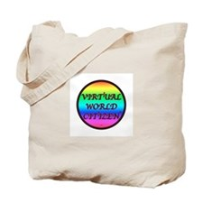 Virtual World Tote Bag