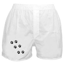Walk-On-Me Pawprints Boxer Shorts