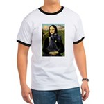 Mona Lisa /giant black Schnau Ringer T