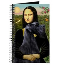 Mona Lisa /giant black Schnau Journal