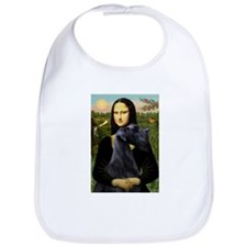 Mona Lisa /giant black Schnau Bib