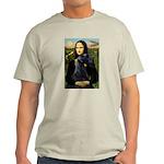 Mona Lisa /giant black Schnau Light T-Shirt