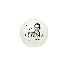 Tough as Barack Mini Button (100 pack)