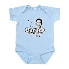 Barack is Barilliant Infant Bodysuit