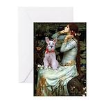 Ophelia's Schnauzer Greeting Cards (Pk of 10)