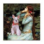 Ophelia's Schnauzer Tile Coaster