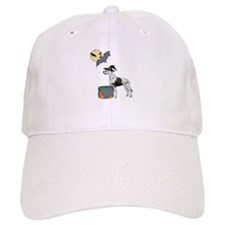 Great Dane Witch Halloween Baseball Cap