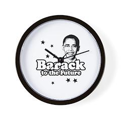 Barack the Future Wall Clock